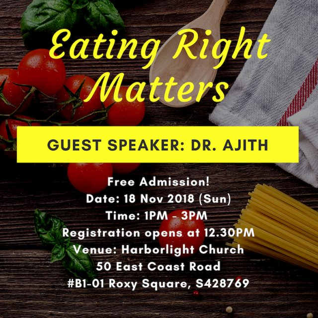 Eating Right Matters