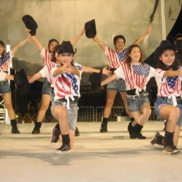 Community Line Dancing.