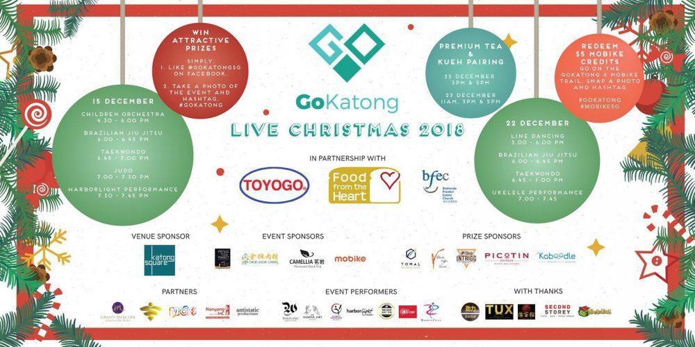 Go Katong Live Christmas 2018